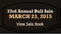2014 Bull Sale