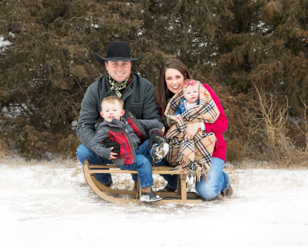 TD Angus Family, new owners of the angus cattle ranch at Rishel Ranch